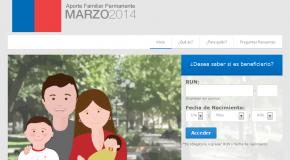 Consulta AQUI con tu rut si eres beneficiario del Aporte Familiar Permanente – Bono Marzo 2014