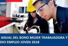 Pago anual y reliquidación Anual 2018 Bono Mujer Trabajadora y Subsidio Empleo joven